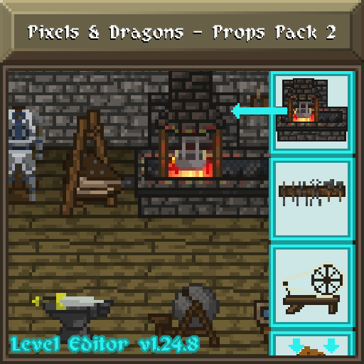 Pixels and Dragons - Props Pack 2