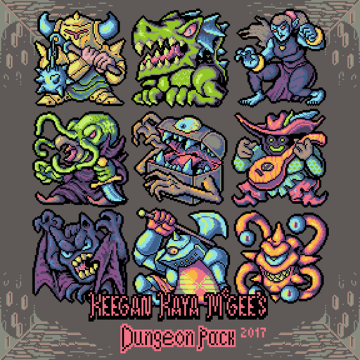 Keegan Kaya McGee's Dungeon Pack