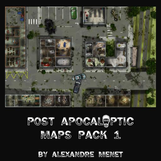 Post Apocalyptic Maps Pack 1