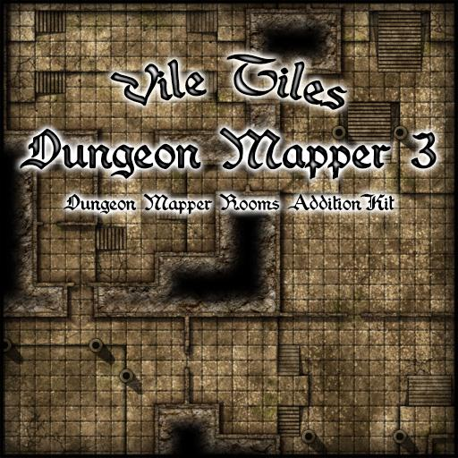 Vile Tiles: Dungeon Mapper 3