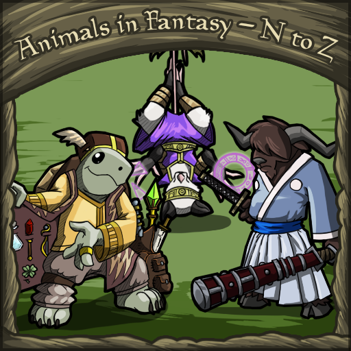 Animals in Fantasy - N to Z