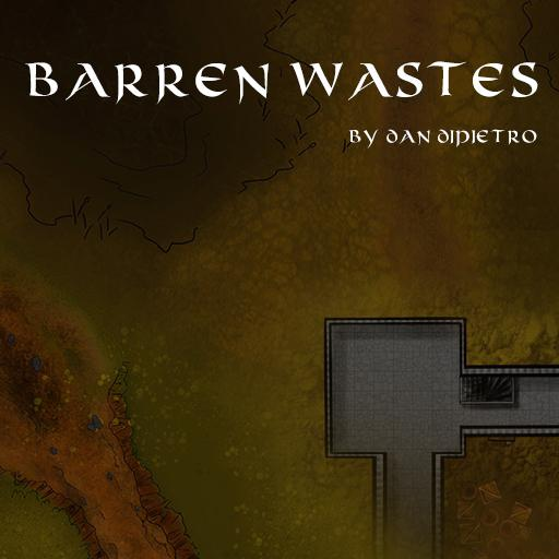 Barren Wastes Map Pack