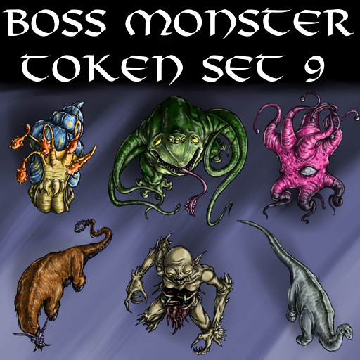 Boss Monster Token Set 9