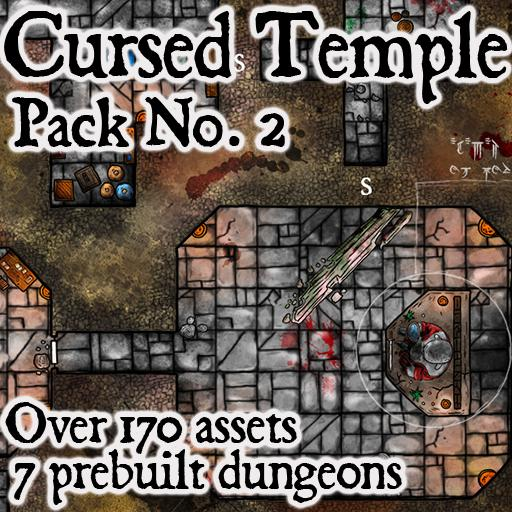 Cursed Temple - Pack No. 2
