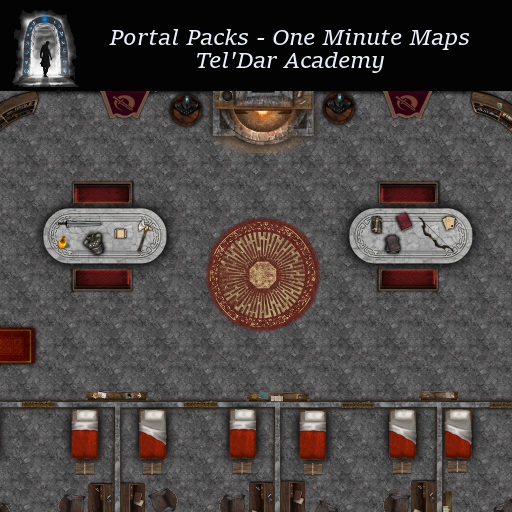 Portal Packs - One Minute Maps - Tel'Dar Academy