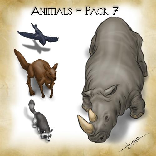 Animals - Pack 7