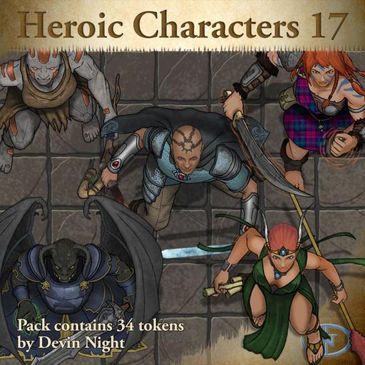 91 - Heroic Characters 17