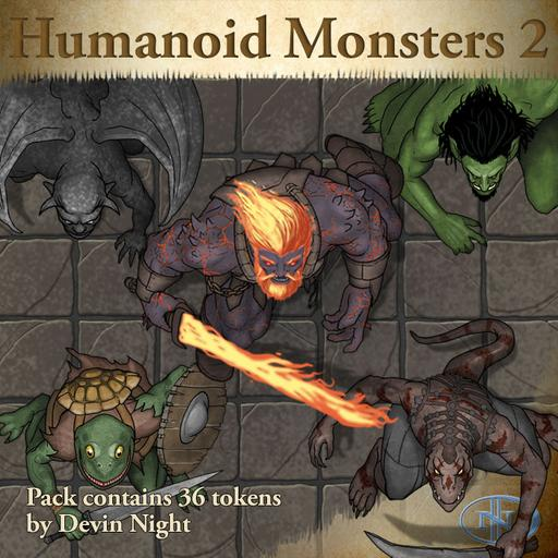 95 - Humanoid Monsters 2