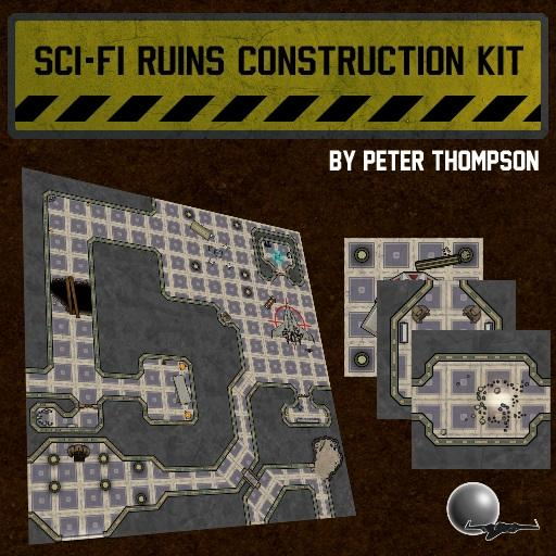 Sci-Fi Ruins Construction Kit