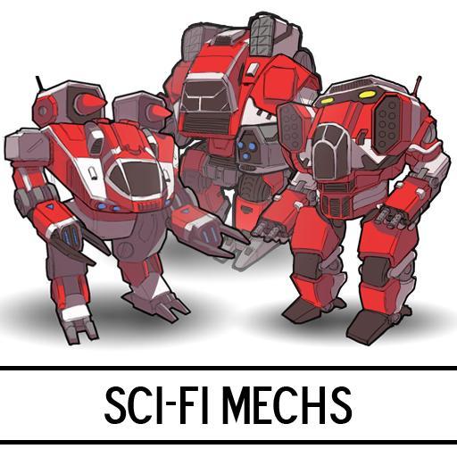 Sci-Fi Mechs