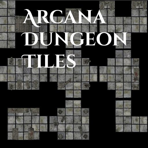 Arcana Dungeon Tiles Base Pack