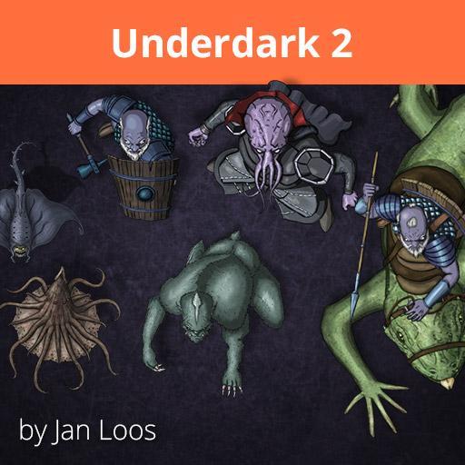 Jans Token Pack 8 - Underdark 2