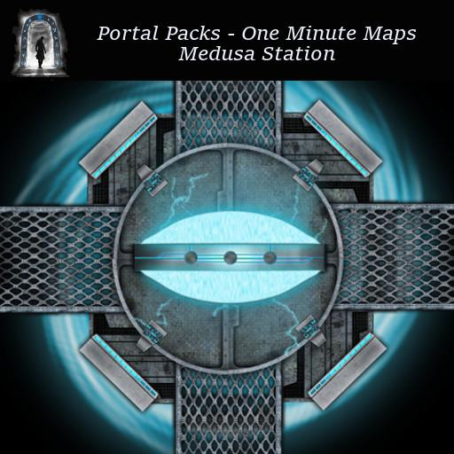 Portal Packs - One Minute Maps - Medusa Station