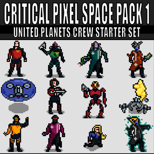 Critical Pixel Space Pack 1