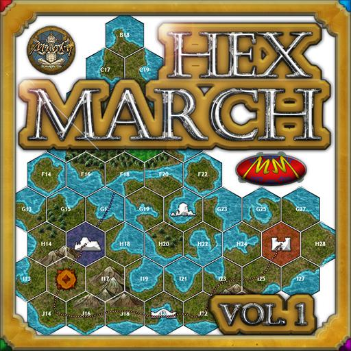 Hex March Vol 1 - World Map Builder