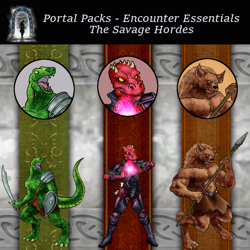 Portal Packs - Encounter Essentials - The Savage Hordes