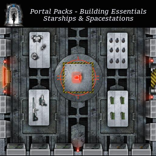 Portal Packs - Building Essentials - Starships & Spacestations