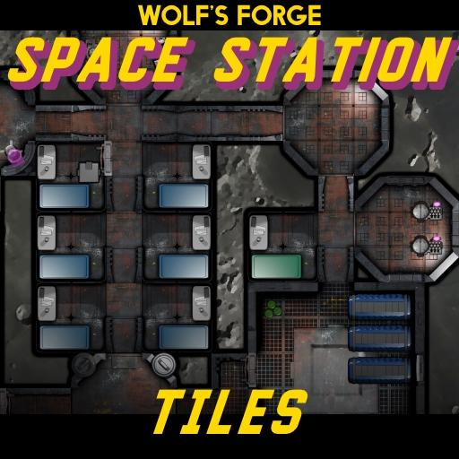 Space Station Tiles DarkBase