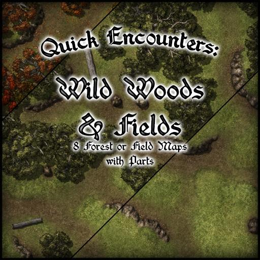Quick Encounters: Wild Woods & Fields