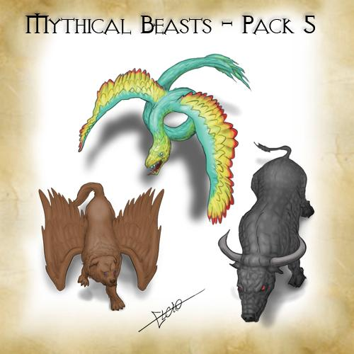 Mythical Beasts - Pack 5