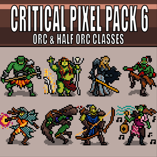 Critical Pixel Pack 6