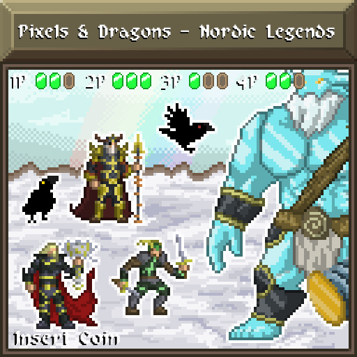 Pixels and Dragons - Nordic Legends