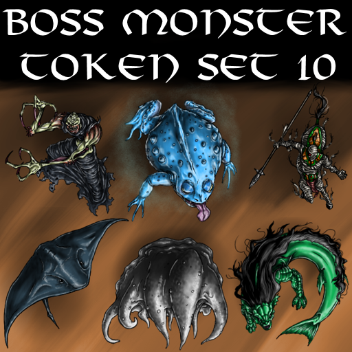Boss Monster Token Set 10