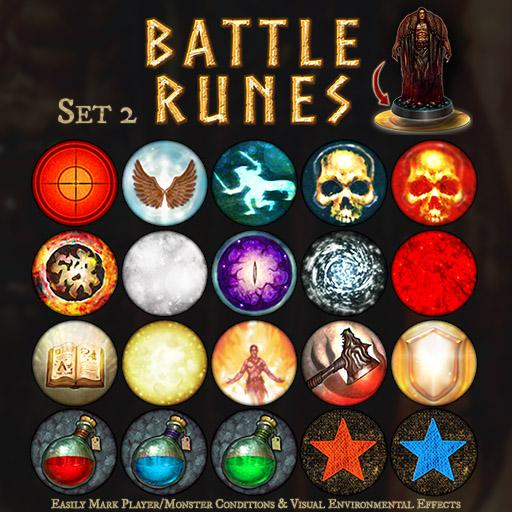 Battle Runes Set 2
