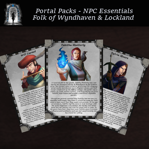 Portal Packs - NPC Essentials - Men of Wyndhaven