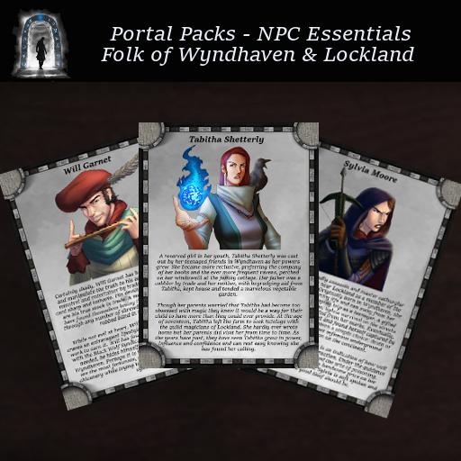 Portal Packs - NPC Essentials - Men of Wyndhaven