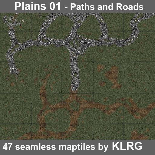 KLRG Plains 01 - Paths and Roads