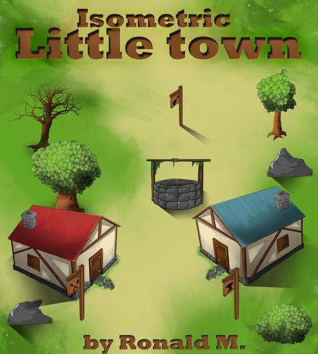 Isometric Little Town