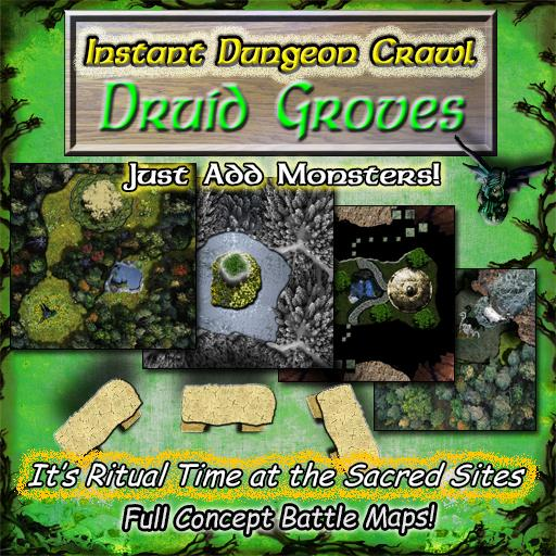 Instant Dungeon Crawl: Druid Groves