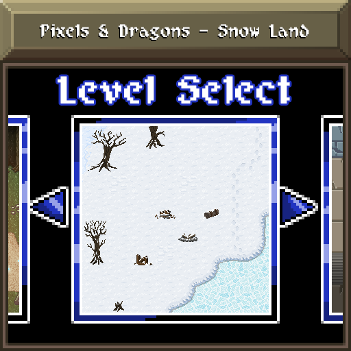 Pixels and Dragons - Snow Land