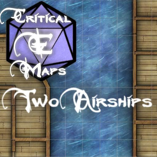 Critical E Maps: Two Airships