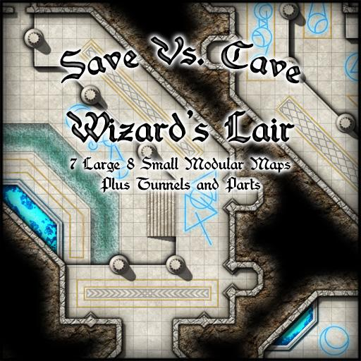 Save Vs. Cave Wizard's Lair