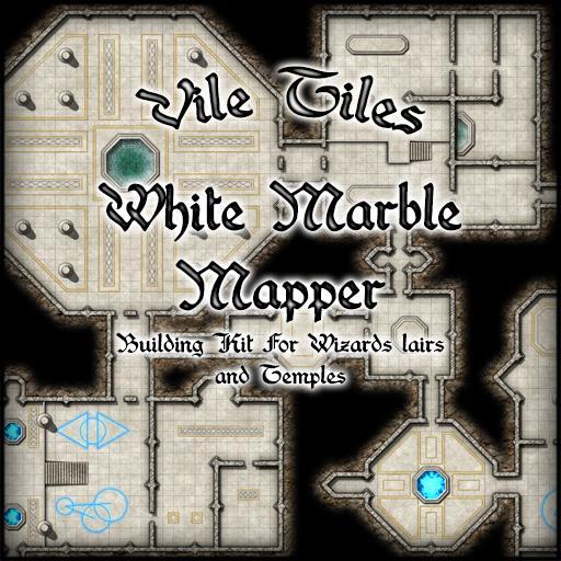 Vile Tiles White Marble Mapper