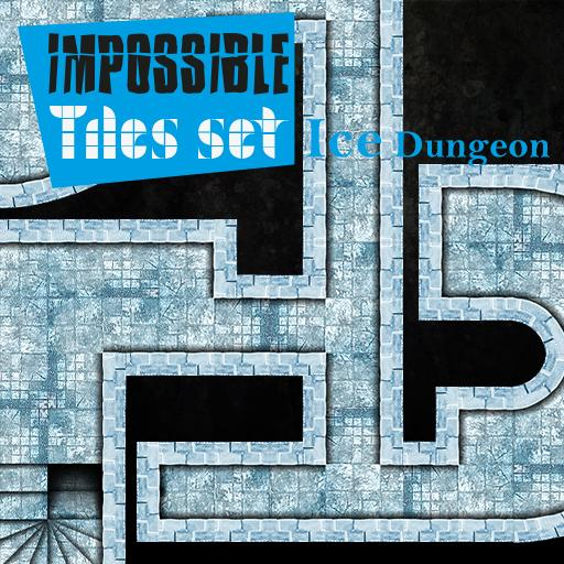 Impossible Tiles Set: Ice dungeon