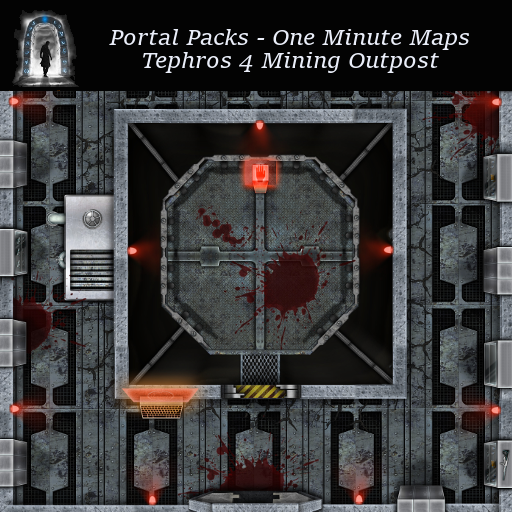 Portal Packs - One Minute Maps - Tephros 4 Mining Outpost