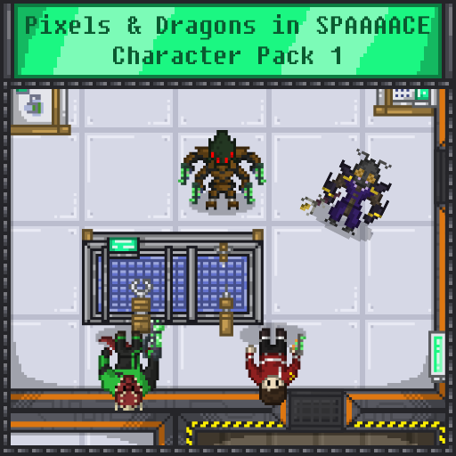 Pixels and Dragons in SPAAAACE - Character Pack 1