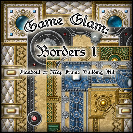 Game Glam: Borders 1