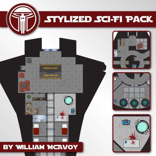Stylized Sci-Fi Pack