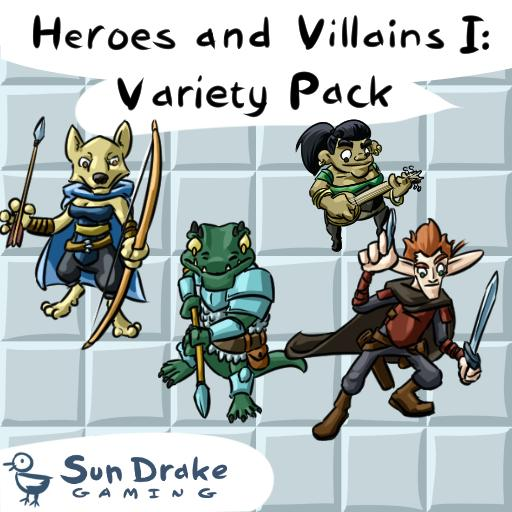 Heroes and Villains I: Variety Pack