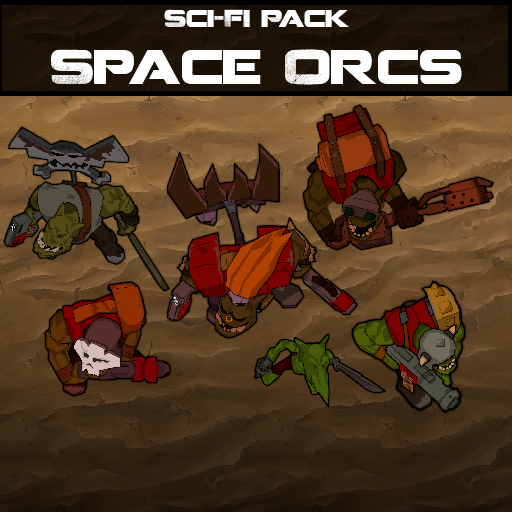 Sci-Fi Pack: Space Orcs