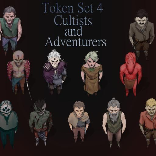 Token Set # 4: Cultists and Adventurers