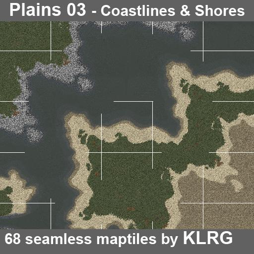 KLRG Plains 03 - Coastlines and Shores