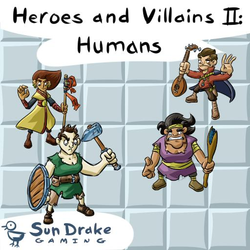 Heroes and Villains II: Humans