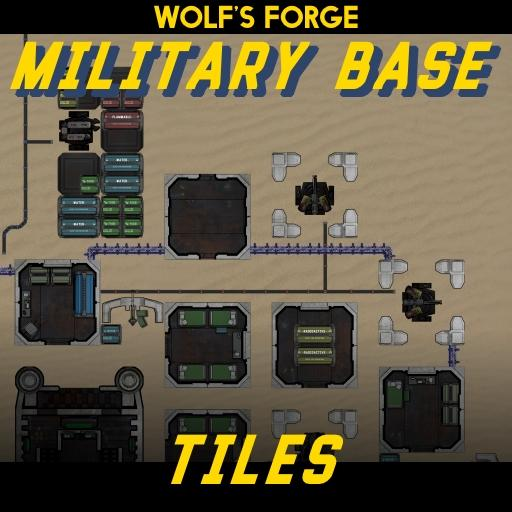 Military Base Tiles: DarkBase