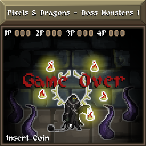 Pixels and Dragons - Boss Monsters 1