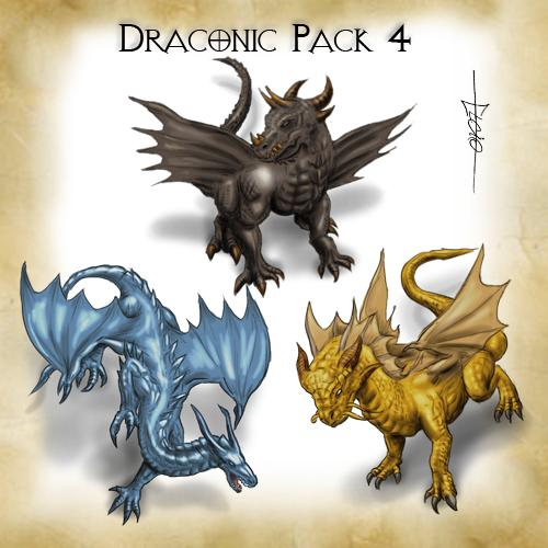 Draconic Pack 4